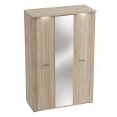 Шкаф 3-дверный Элана дуб сонома