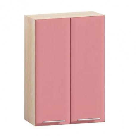 Шкаф навесной Е-2807 Комфорт розовый