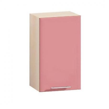 Шкаф навесной Е-2824 Комфорт розовый