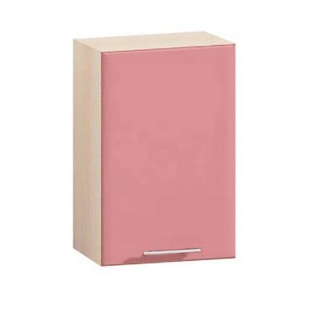 Шкаф навесной Е-2826 Комфорт розовый