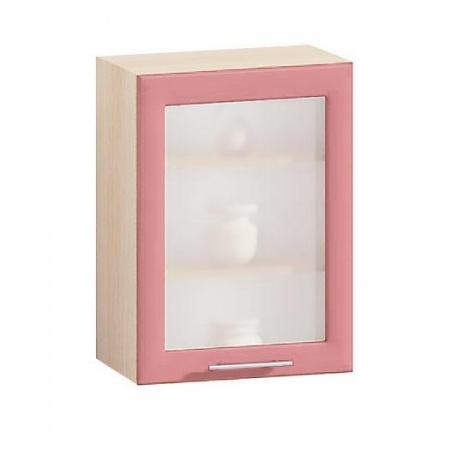 Витрина Е-2828 Комфорт розовый