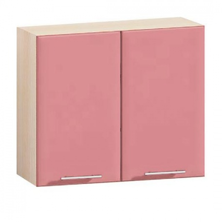 Шкаф навесной Е-2843 Комфорт розовый