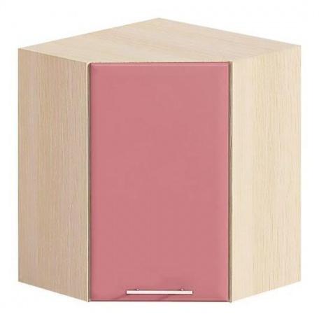 Шкаф угловой Е-2853 Комфорт розовый