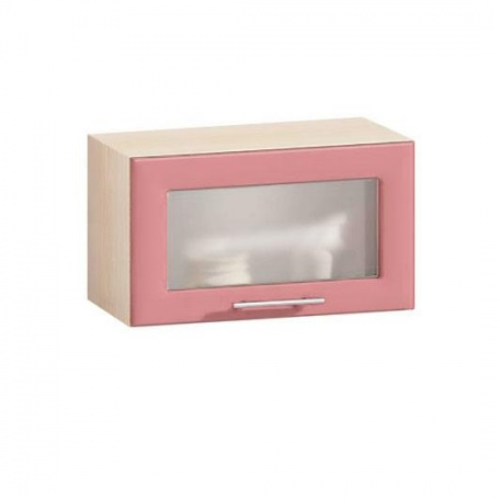 Витрина горизонтальная Е-2857 Комфорт розовый