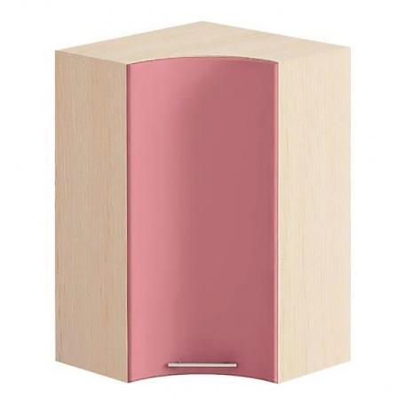 Шкаф угловой Е-2921 Комфорт розовый