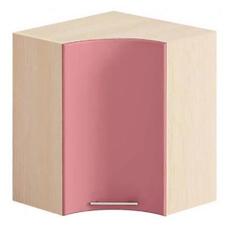 Шкаф угловой Е-2922 Комфорт розовый