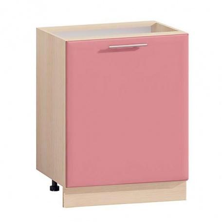 Тумба однодверная Т-2877 Комфорт розовый