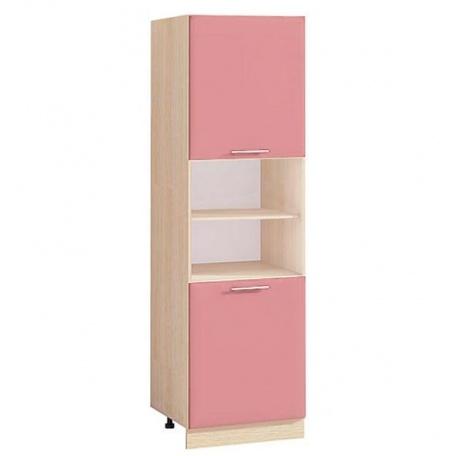 Шкаф (пенал) Т-2890 Комфорт розовый