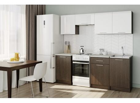 Кухня Адель (венге/белый)