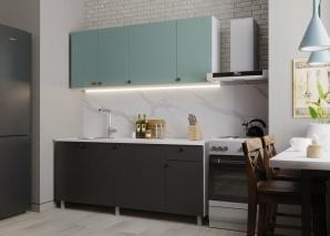 Кухня Деми 180 (графит)