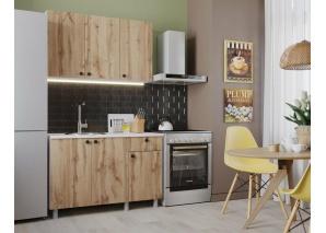 Кухня Деми 120 (дуб вотан)