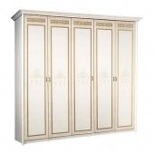 Шкаф 5-ти дверный Карина-3 бежевая